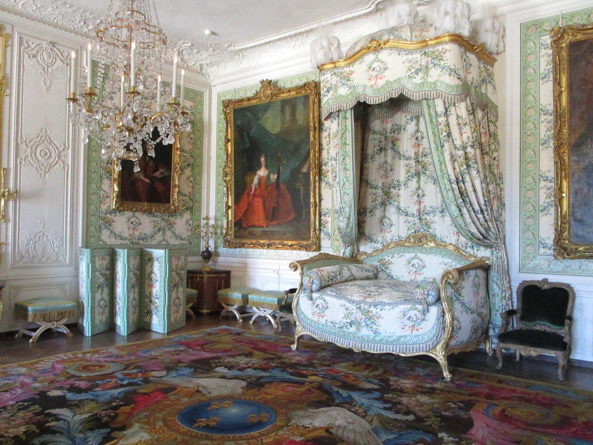 Bedchamber of Madame Voctoire, Versailles