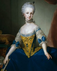 Archduchess Maria Josepha  (19 March 1751 -15 October 1767)