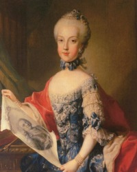Archduchess Maria Carolina   (13 August 1752 - 8 September 1814)