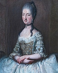 Maria Beatrice d'Este (7 April 1750 – 14 November 1829)