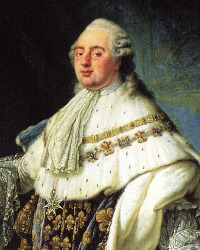 Louis-Auguste, Dauphin of France  (23 August 1754 – 21 January 1793)  From 1774 King Louis XVI of France