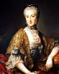 Archduchess Maria Anna (6 October 1738 -19 November 1789)