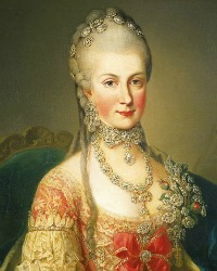 Archduchess Maria Christina (13 May 1742 - 24 June 1798)