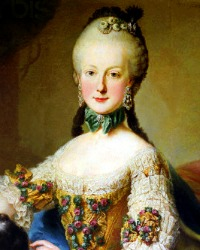 Archduchess Maria Elisabeth  (13 August 1743 - 22 September 1808)