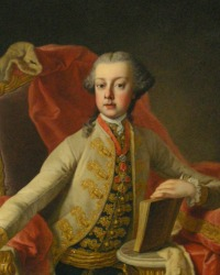 Archduke Karl Josef  (1 February 1745- 18 January 1761)