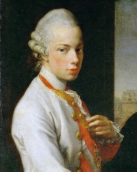 Archduke Peter Leopold   (5 May 1747-1 March 1792)  From 1765 Grand Duke of Tuscany and then Holy Roman Emperor Leopold II in 1790.