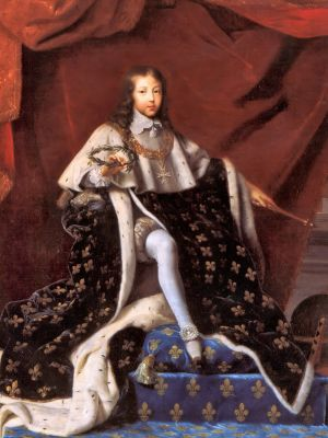 King Louis XIV at age 10 by Henri Testelin (1648)