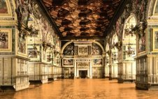 Gallery of Henry II at Fontainebleau Palace