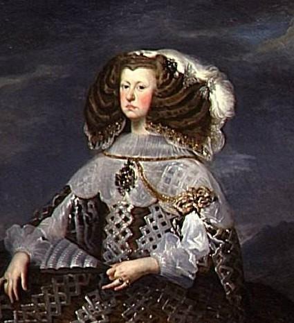 Mariana of Austria, Queen of Spain, mother of Charles II of Spain