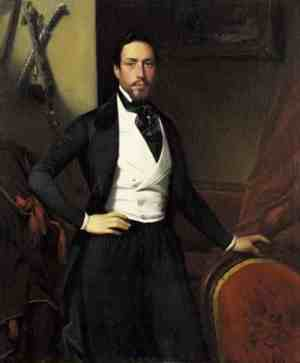 Charles Auguste Louis Joseph, Duc de Morny. The illegitimate son of Hortense de Beauharnais. He was raised by his grandmother and became close to Napoleon III, his half brother.