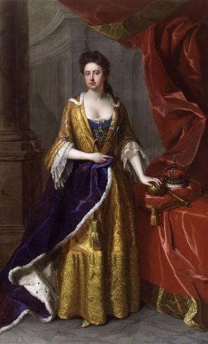Queen Anne in 1705, by Michael Dahl