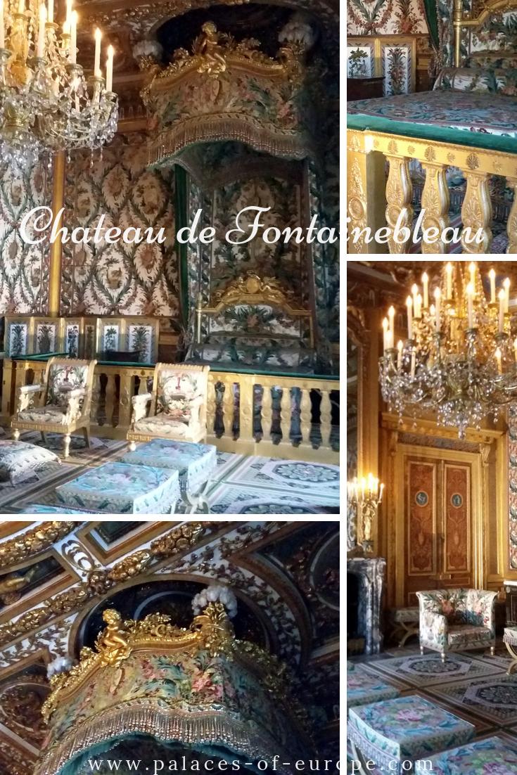 Queen's bedroom, Fontainebleau