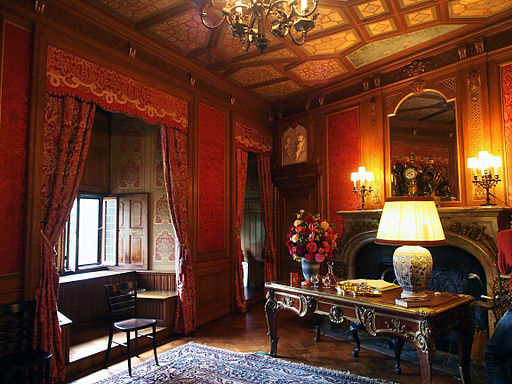 The bedroom of the Baron. Foto: By Arjandb (Own work) via Wikimedia