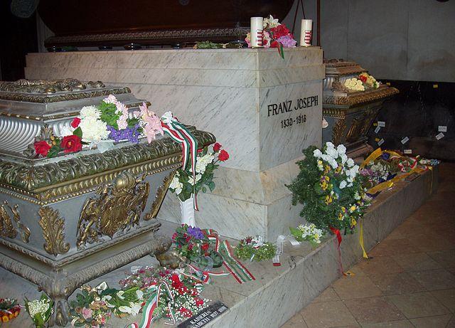 Grave of Empress Elisabeth and Emperor Franz Joseph