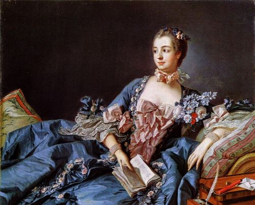 Jeanne Poisson received the title Marquise de Pompadour, and the castle to go with it. This allowed her to be presented at the court of King Louis XV.