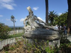 The Wounded Achilles at the gardens of Achilleion Palace