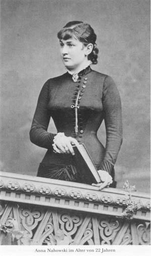 Anna Nahowski, mistress of Emperor Franz-Joseph