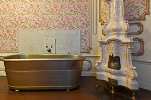 The bathroom of Empress Elisabeth in the Hofburg Palace, Vienna