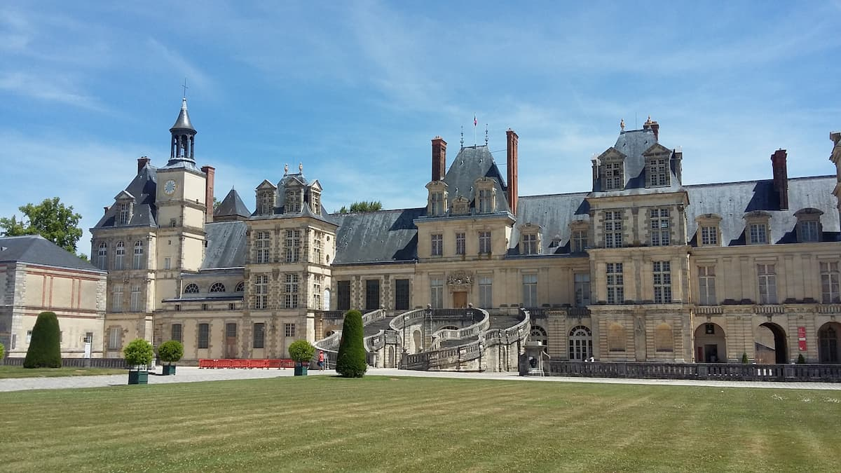 Peace and serenity at Chateau de Fontainebleau