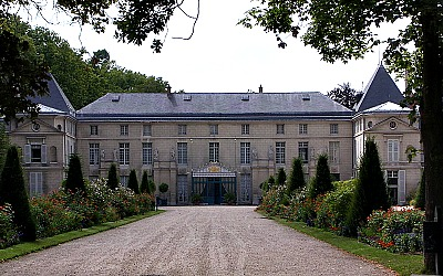 Chateau de Malmaison, home of Napoleon and Josephine