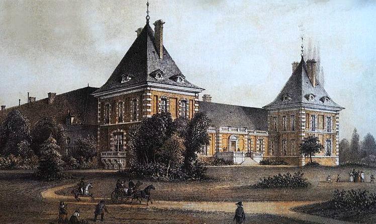 Château de Pont-sur-Seine, home of Letizia Bonaparte from 1805 until 1813.
