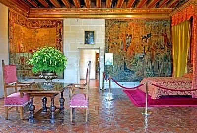 Chenonceau, bedroom of Gabrielle d'Estrées
