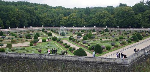 Chenonceau, garden of Diane de Poitiers