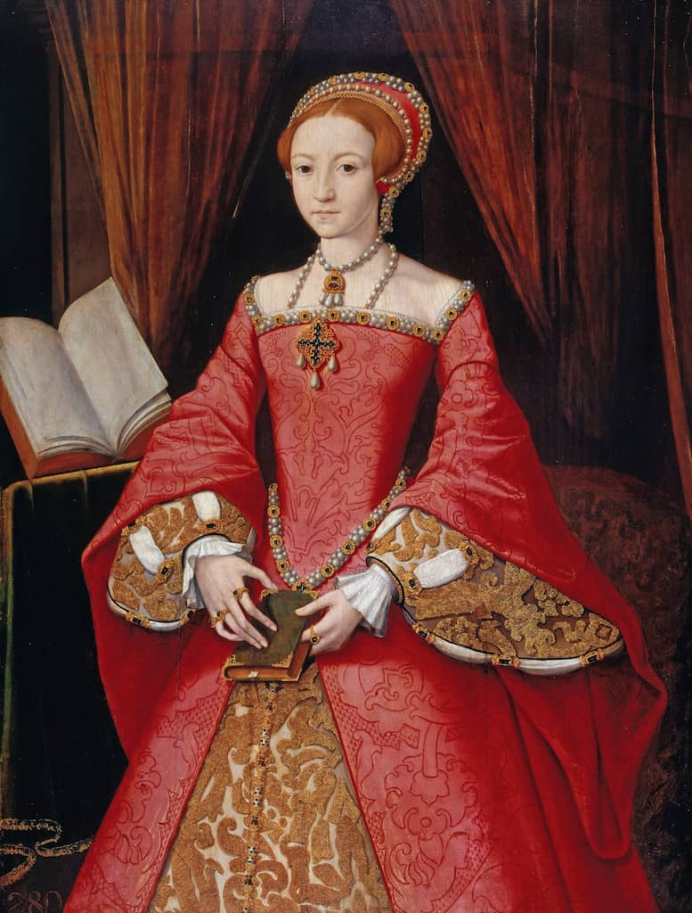 Elisabeth I when still a Princess