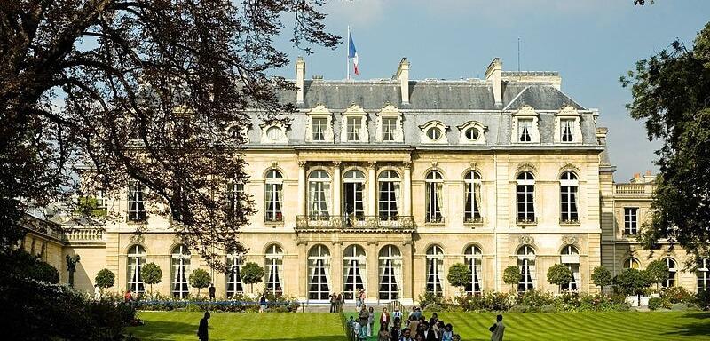The Élysée Palace