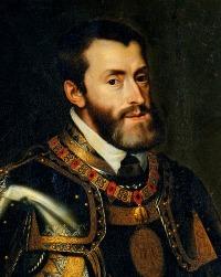 Emperor Charles V by Juan Pantoja de la Cruz