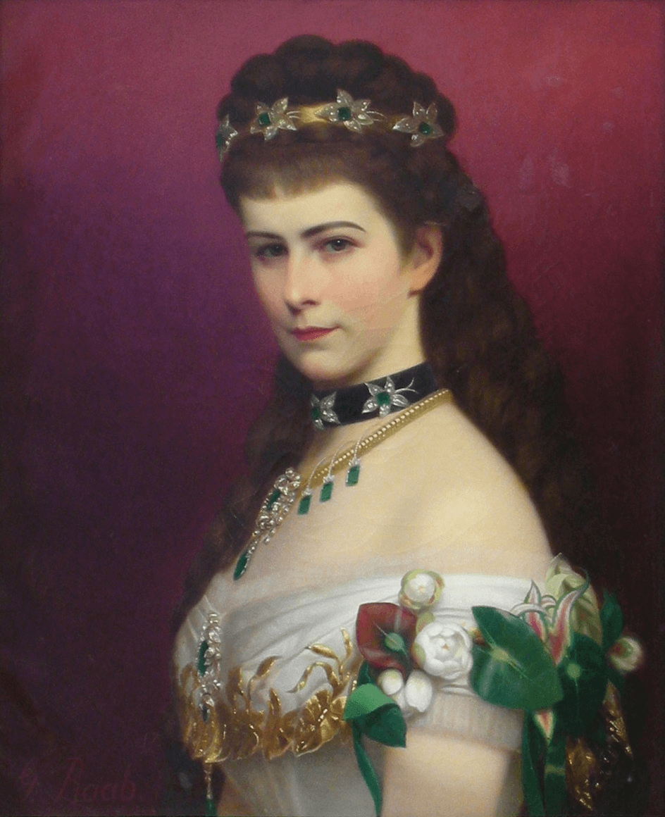 Portrait of Empress Elizabeth by Georg Raab