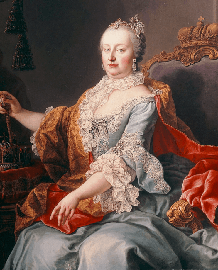 Empress Maria Theresa, the only female ruler of the Habsburg dynasty.