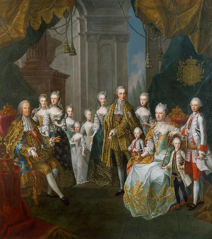 A habsburg family - Stijl van marie antoinette ...