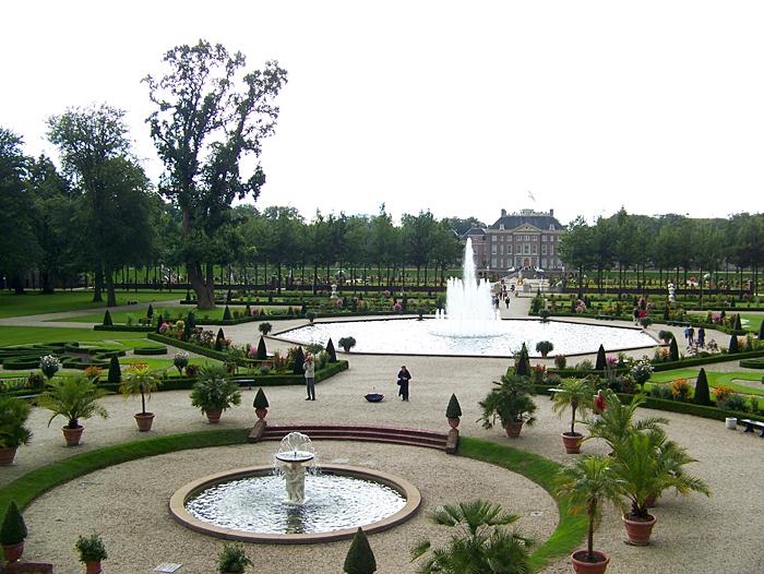 Famous gardens of Paleis Het Loo