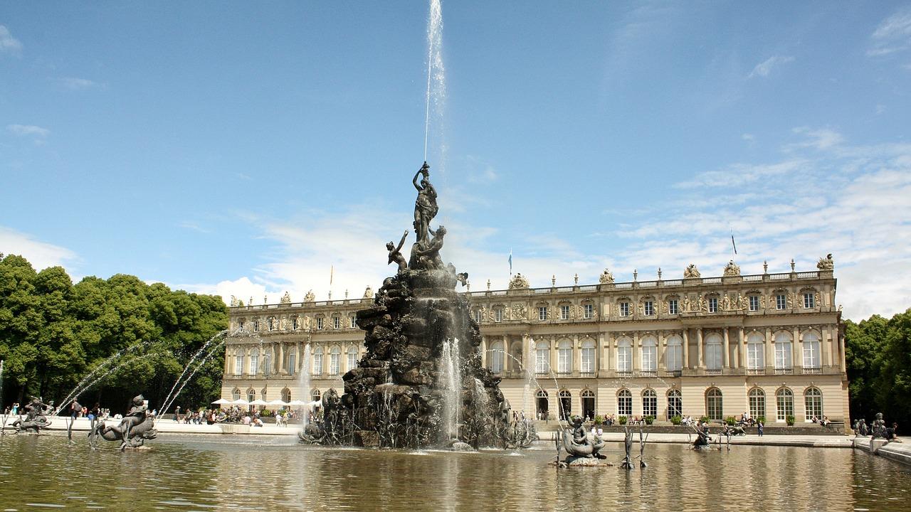 Herrenchiemsee Fountain