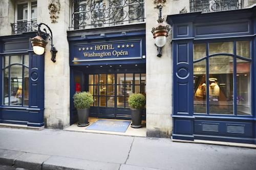 Hotel Washington Opera, former town house of Madame de Pompadour