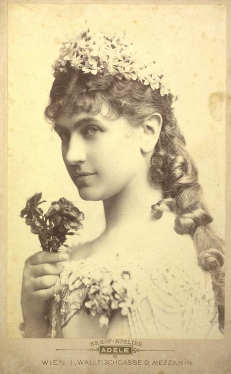 Katharina Schratt, mistress of Emperor Franz-Jospeh