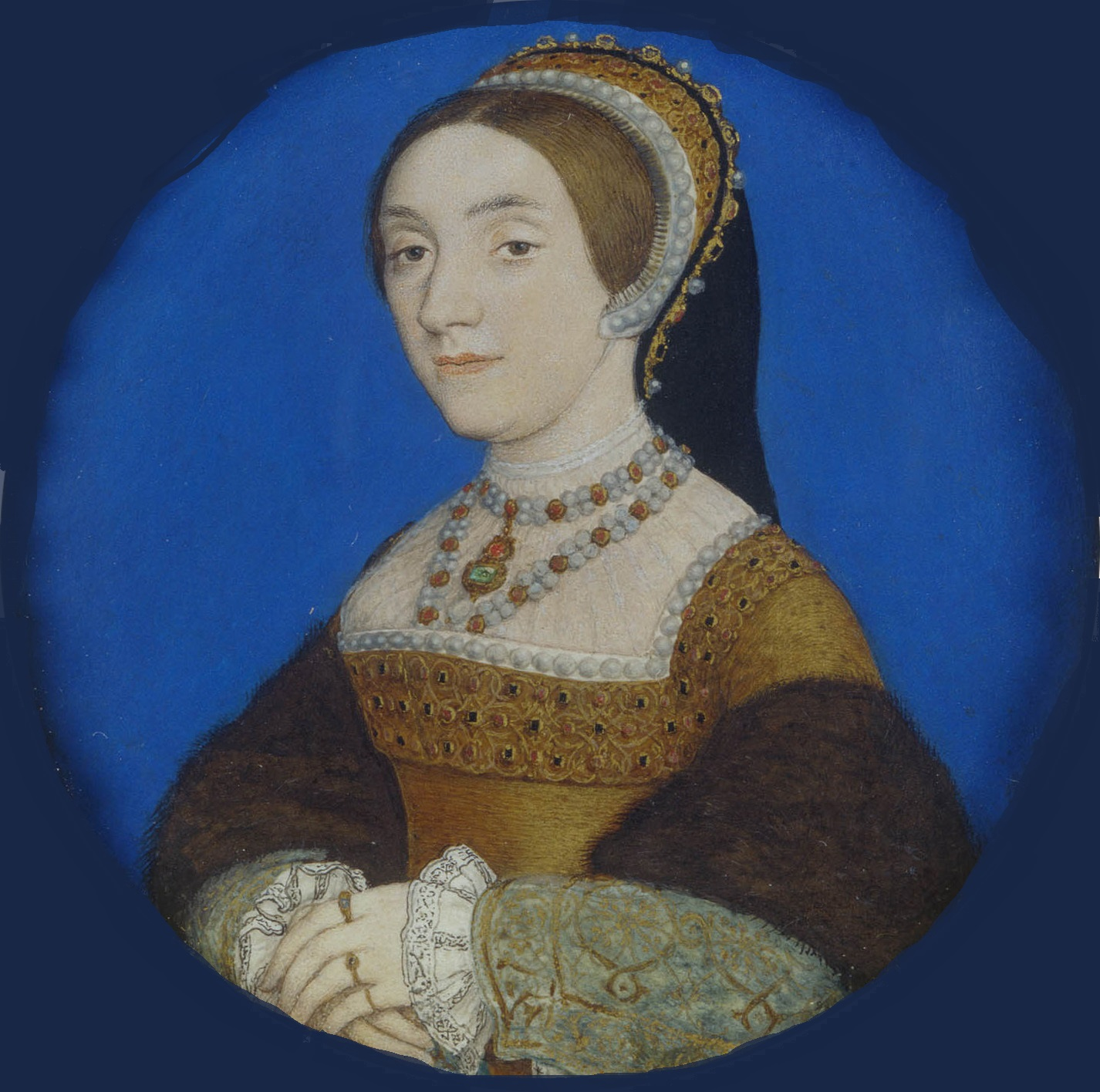 Catherine Howard -Portrait by Hans Holbein the Younger circa 1540