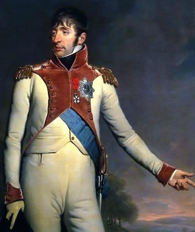 Louis Napoleon Bonaparte, brother of Emperor Napoleon, was King of Holland (1806-1810)