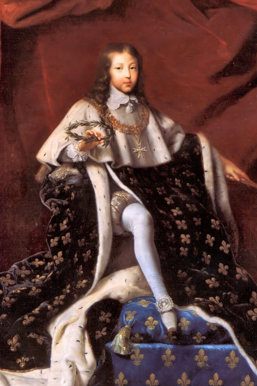 King Louis XIV at age 10 by Henri Testelin (1648)