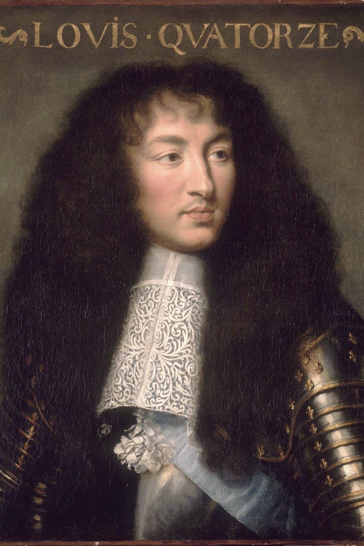 King Louis XIV at age 23, by Charles Le Brun (circa 1661-1662)