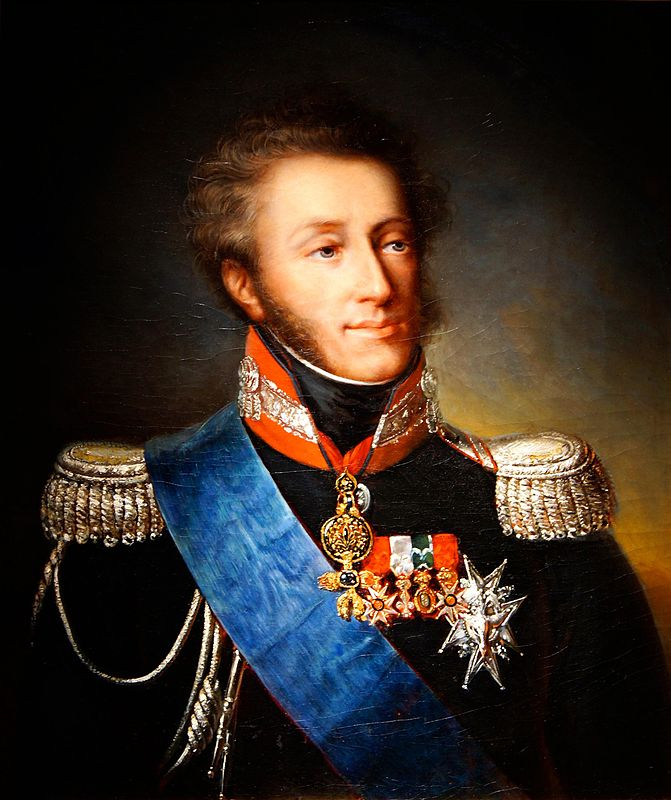 Louis-Antoine of Artois, Duke of Angoulême. Husband of Marie-Thérèse of France