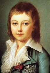 Lousie Charles, dauphin of France, son of Marie Antoinette and Louis XVI