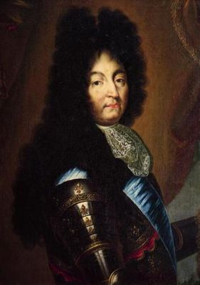King Louis XIV by Hyacinthe Rigaud