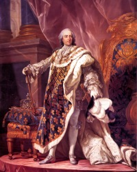 King Louis XV