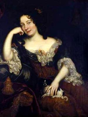 Madame de Maintenon, born as Françoise d'Aubigné  (27 November 1635 – 15 April 1719)