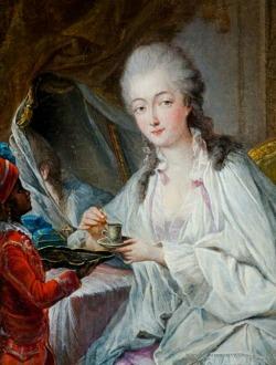 Zamir serving Madame du Barry