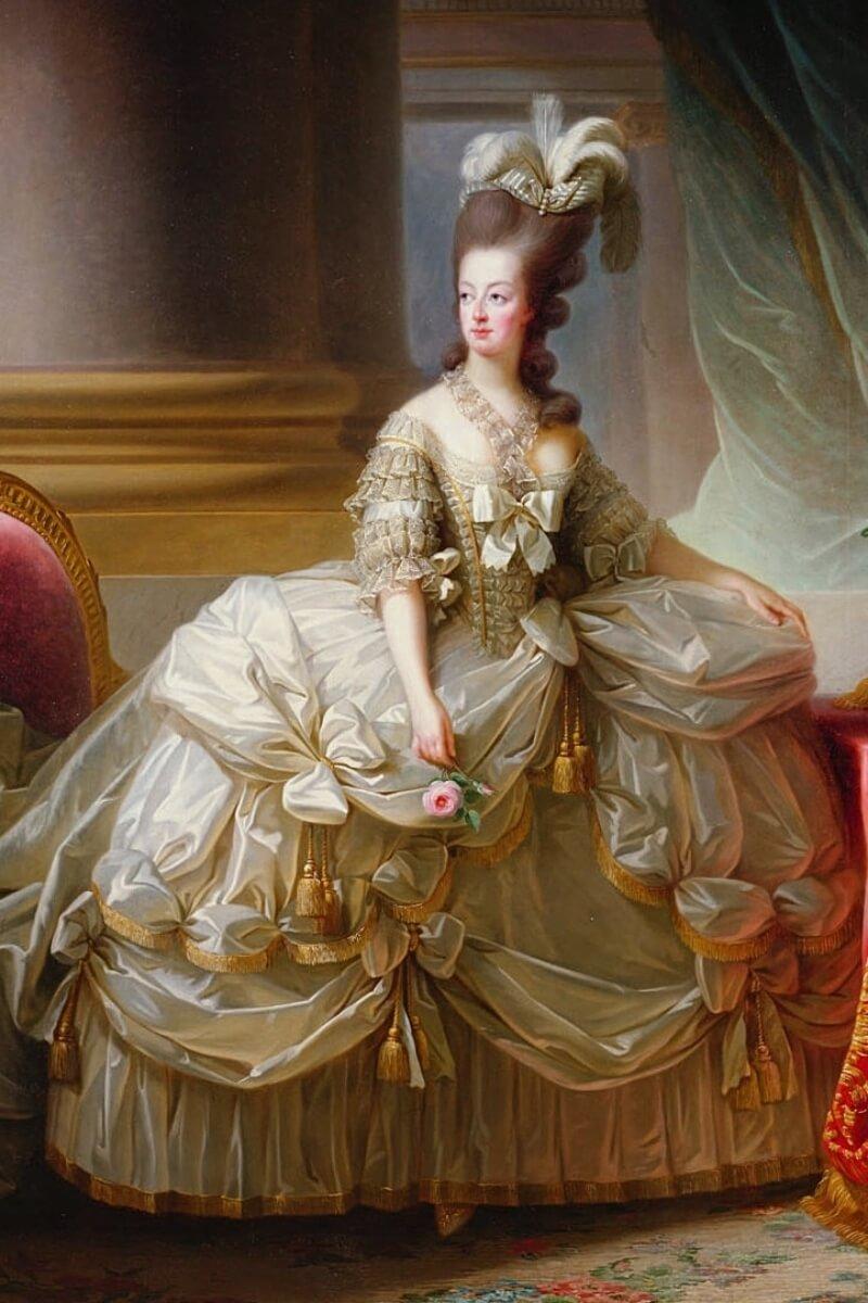 Marie Antoinette 1779, painting by Élisabeth Vigée-Lebrun