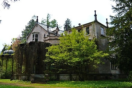 Marmorschlössl, in the gardens of the Kaiservilla. Sisi's own Petit Trianon