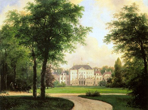 Het Loo Palace By Andreas Schelfhout (1787-1870)